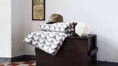 Roros tweed blanket Aker grey
