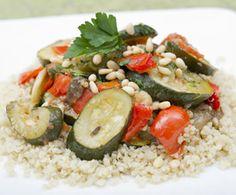 Veggie Ratatouille and Quinoa, great #MeatlessMonday recipe from @Whole Foods Market!
