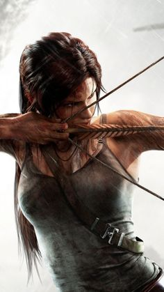 Tomb Raider Lara Croft mobile wallpaper William Higinbotham developed an analogue computer with vacuum Tom Raider, Tomb Raider 2013, Tomb Raider Game, Lara Croft Angelina Jolie, Tomb Raider Lara Croft, Anime Art Fantasy, Costume Lara Croft, Lara Croft Disfraz, 3d Wallpaper Superhero