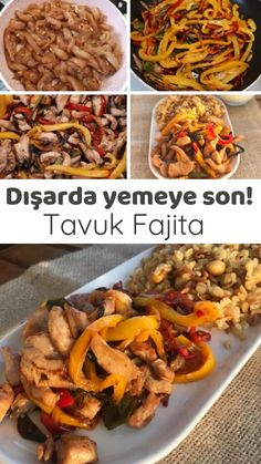 Tavuk Fajita (Dışarda Yemeye Son) – Nefis Yemek Tarifleri How to make Chicken Fajitas (Stop Eating Out) Recipe? Illustrated explanation of this recipe in the book of people and photos of those who try it are here. Author: Flavors from the bunch Chicken Fajita Recipe, Chicken Fajitas, Chicken Wraps, Chicken Recipes, Spinach Alfredo, Steak Fajitas, Stop Eating, Steak Recipes, Cooking Recipes