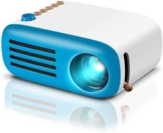 Shop GooDee Mini Projector, LED Portable Projector Pocket Pico Projector Great Gift for Kids, HD Supported HDMI Connect to PC Laptop Xmas Gift for Children. Best Home Theater Projector, Best Projector, Movie Projector, Home Theater Projectors, Pico Projector, Portable Projector, Hdmi Projector, Gaming, Products