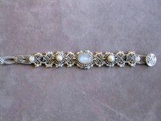 Isha Elafi Three Stone Bracelet