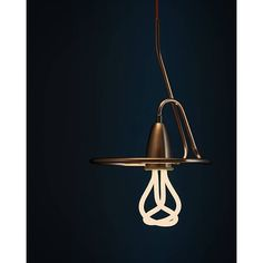 Just came across this custom made pendant light for the Plumen 001 from Turkish designer  @designcuk. Wow!
