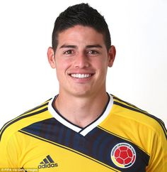 James Rodriguez pulls the strings for Colombia in midfield