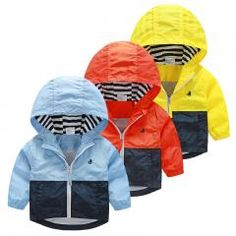 8b8e6a1ad Kids Toddler Boys Jacket Coat Spring Autumn Hooded Windbreaker For Children  Outerwear Minnie Baby Clothes Infant Blazer Clothing