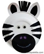 Z is for zebra or zoo craft….lots of cute paper plate animals on this site