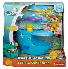 Fisher-Price Octonauts Gup C & Shellington Playset