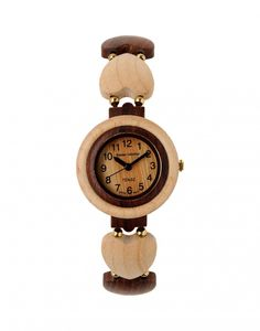 Minden óra Kanadában készül! Anyaga szantálfa, hipóállérgén. Súlya mindössze (15g). Az óra a legmagasabb minőséget képviselő óraszerkezettel (Citizen/Miyota) rendelkezik. Az óra szíja faszívecskék és... Minden, Interesting Stuff, Wood Watch, Pocket Watch, Watches, Accessories, Fashion, Wooden Clock, Moda