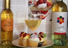 There is really only one 'golden rule' for me when choosing wines to match cake. The wine should be sweeter than the cake; and you should try to match flavor intensity.