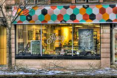 100 King St. , Honey.. Bake Shop , Uptown Waterloo , Ontario Baking With Honey, Waterloo Ontario, The 100, Neon Signs, Therapy, Shopping, Pretty, Art, Art Background