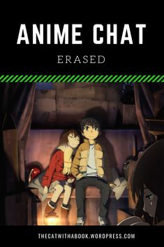 A short review of the anime Erased. List Of Anime Series, Anime Chat, Thriller, Science Fiction, Mystery, Cats, Book, Fictional Characters, Sci Fi