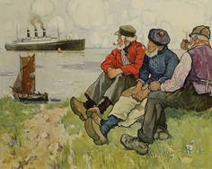 Henri Cassiers - Affiche Red Star Line