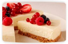 Easy Philadelphia cheesecake recipe. Cheese recipes from Cookipedia. A quick and simple cheesecake that requires no cooking.