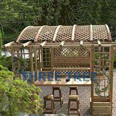 Garden Structures For Backyards   Lattice Garden, Garden Structures And  Outdoor Gardens