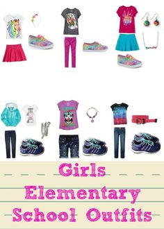Middle School And Elementary School Back To School Outfits
