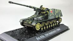 1:72  NASHORN  sd.kfz.164 German self-propelled artillery unit Fabbri & mag №7