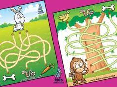 Education maze game for kids   free printable Preschool Activities At Home, Preschool Education, Mazes For Kids Printable, Free Printables, Maze Games For Kids, Coloring For Kids, Blog, Free Printable, Blogging