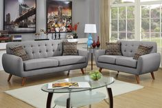 nice Poundex Bobkona Sonya 2 Piece Sofa and Loveseat Set by http://www.top-homedecor.space/sofas-and-loveseats/poundex-bobkona-sonya-2-piece-sofa-and-loveseat-set/