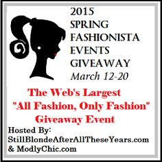Shaiha's Ramblings: 2015 Spring Fashionista Giveaway!!!