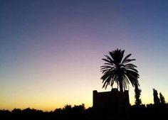 Sonnenuntergang im ROBINSON Club Agadir/Marokko