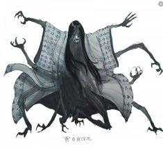 """DDF Jorogumo"" by ZachariahRoane Monster Concept Art, Fantasy Monster, Monster Art, Monster High, Fantasy Character Design, Character Design Inspiration, Character Art, Writing Inspiration, Creature Concept Art"