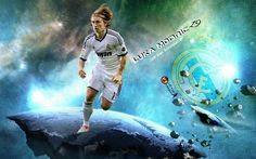Luka Modric New Wallpaper
