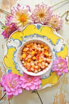 Nectarine Salsa   Deco Tartelette