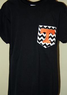 Ladies Tennessee Pocket Tee by SewYouBoutique on Etsy, $20.00