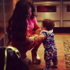 Nicole Snooki Polizzi - Saying Bye To Lorenzo Mom And Baby, Mommy And Me, Baby Love, Baby Kids, Snooki And Jwoww, Nicole Snooki, Beautiful Family, Beautiful Children, Cute Kids