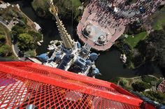 View of Cinderella Castle at WDW from ABOVE! Not something you see every day!