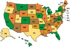 Road Trip USA - pick a state and it provides info about various state parks, rec sites, or things to see/do there