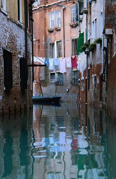 Casanova didn't plant ideas of Venice in my head, but it sure helped to romanticize it for me