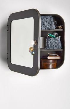 #IKEACatalog2016  Lockable mirror cabinet