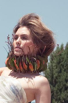 ph: Tania Alineri Art director: Andrea Mennella Producer: Davide Di Lallo make up: Rocco Ingria Hair: Ori 'O' fiori: Dobbhen Flower #flawer #flowers #fiori #fiore #makeup #acconciature #style #naturalstyle