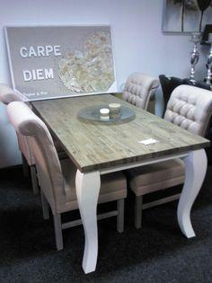 Landelijke stijl 180x90 cm €499,- Dining Room, Dining Table, Rustic, Furniture, Home Decor, Home, Diy Room Decor, Country Primitive, Dinning Table