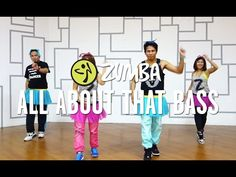 All About That Bass | Zumba® Fitness with Mark, Che, Aris & Kristie | Live Love Party - YouTube
