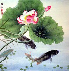 CHINESE PAINTING-LOTUS FLOWER