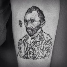 Vincent Willem van Gogh Ink by Nazar Butkovski