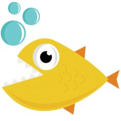Hungry Fish SVG cut file for scrapbooking fish svg file free svgs free svg cuts cute svg files