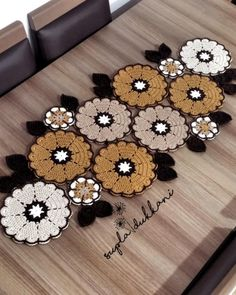 Best 12 Lil Cute Crochet Flowers pattern by Diva Stitches Crochet – SkillOfKing. Crochet Placemat Patterns, Crochet Flower Patterns, Doily Patterns, Crochet Motif, Crochet Designs, Crochet Doilies, Crochet Flowers, Knit Crochet, Crochet Decoration