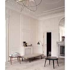 BL3M Floor Lamp - Gray/Brass