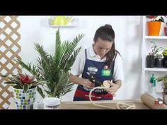 Como hacer un porta macetas - YouTube