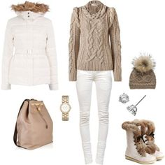 60 Chic and Warm Skiing Outfit Ideas