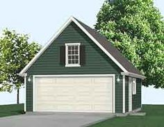 Attic 2 Car Steep Roof Garage Plan with One Story x WALLS By Behm Designs. Choose Your Garage Plan from Unique Collection of Garage Plans by Jay Behm Expert in Garage Plans. Call us to Discuss with Our Expert 2 Car Garage Plans, Garage Plans With Loft, Garage Apartment Plans, Garage Attic, Attic Loft, Attic Apartment, Attic Rooms, Attic Spaces, Garage Doors