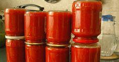 Home ketchup fără chimie inutilă NejRecept. Slovak Recipes, Homemade Ketchup, Home Canning, Preserving Food, Hot Sauce Bottles, Preserves, Smoothie, Food And Drink, Favorite Recipes
