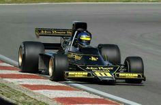 76 F1 Lotus, F1 Drivers, Heavy Metal Bands, F 1, Formula One, Auto Racing, Black Beauty, Grand Prix, Race Cars