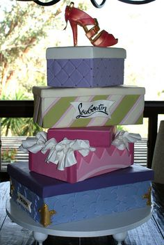 Shoe Box cake! now that's a birthday!