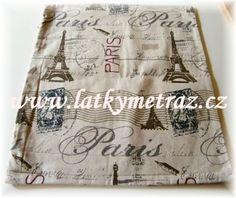 povlak na polštář PAŘÍŽ
