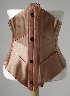 ribbon corsets, 1905