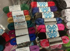 Roller Derby Skate Laces.  Yup!  Let's tie one on at California Roller Skates